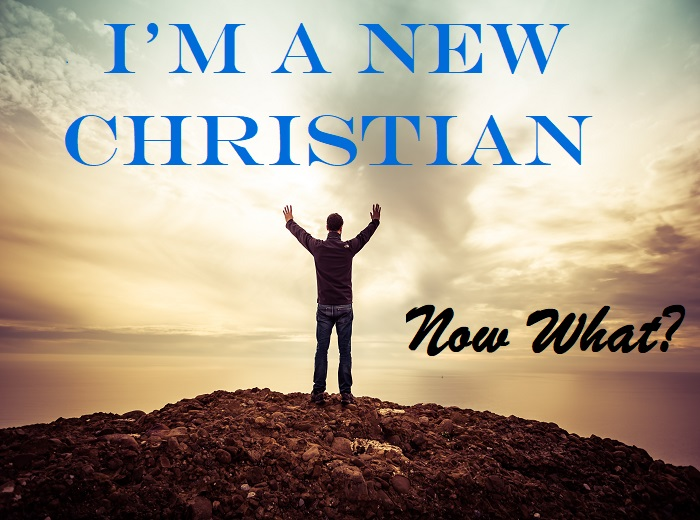 I'm A New Christian - Now What?