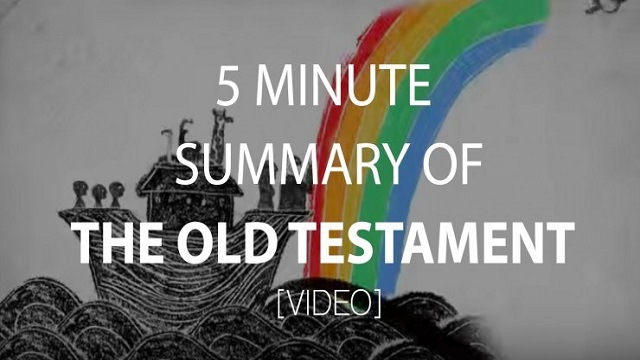 Video 4 The Old Testament!