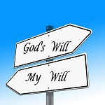 My will, God's will for you.