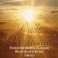 Daily Devotionals for each person.