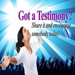 Share your story - Your Testimony